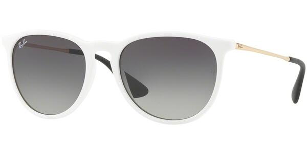 Sluneční brýle Ray-Ban® model 4171, barva obruby bílá lesk zlatá, čočka šedá gradál, kód barevné varianty 631411.