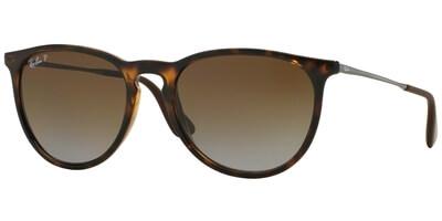 Sluneční brýle Ray-Ban® model 4171, barva obruby hnědá lesk stříbrná, čočka hnědá gradál polarizovaná, kód barevné varianty 710T5.