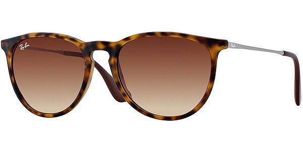 Sluneční brýle Ray-Ban® model 4171, barva obruby hnědá mat stříbrná, čočka hnědá gradál, kód barevné varianty 86513.