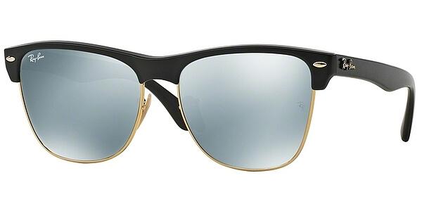 Sluneční brýle Ray-Ban® model 4175, barva obruby černá mat zlatá, čočka stříbrná zrcadlo, kód barevné varianty 87730.