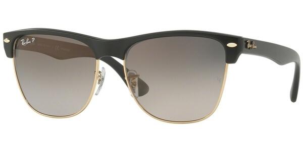 Sluneční brýle Ray-Ban® model 4175, barva obruby černá mat zlatá, čočka Šedá gradál polarizovaná, kód barevné varianty 877M3.