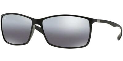 Sluneční brýle Ray-Ban® model 4179, barva obruby černá mat, čočka stříbná zrcadlo polarizovaná, kód barevné varianty 601S82.