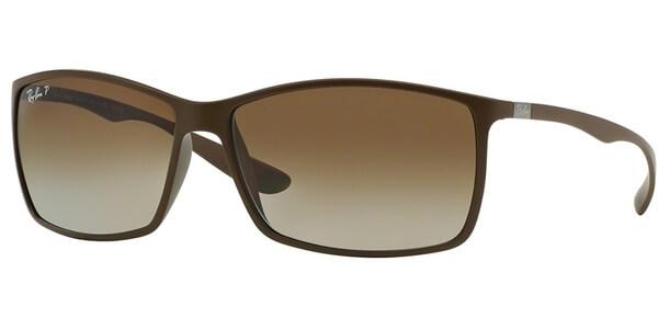 Sluneční brýle Ray-Ban® model 4179, barva obruby hnědá mat, čočka hnědá gradál, kód barevné varianty 6124T5.