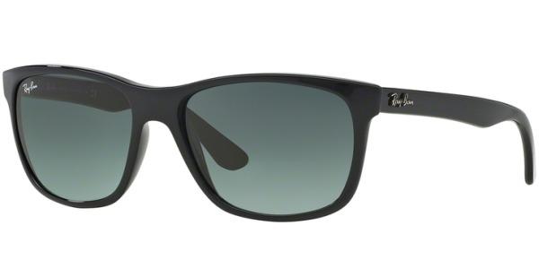 Sluneční brýle Ray-Ban® model 4181, barva obruby černá lesk, čočka šedá gradál, kód barevné varianty 60171.