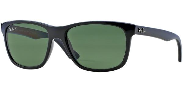 Sluneční brýle Ray-Ban® model 4181, barva obruby černá lesk, čočka zelená polarizovaná, kód barevné varianty 6019A.