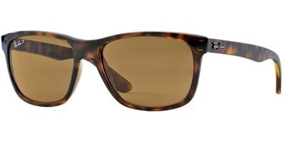 Sluneční brýle Ray-Ban® model 4181, barva obruby hnědá lesk, čočka hnědá polarizovaná, kód barevné varianty 71083.