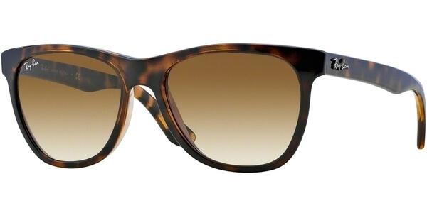 Sluneční brýle Ray-Ban® model 4184, barva obruby hnědá lesk, čočka hnědá gradál, kód barevné varianty 71051.