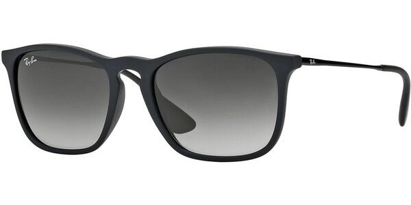 Sluneční brýle Ray-Ban® model 4187, barva obruby černá mat, čočka šedá gradál, kód barevné varianty 6228G.