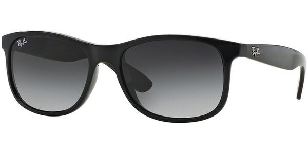 Sluneční brýle Ray-Ban® model 4202, barva obruby černá lesk, čočka šedá gradál, kód barevné varianty 6018G.