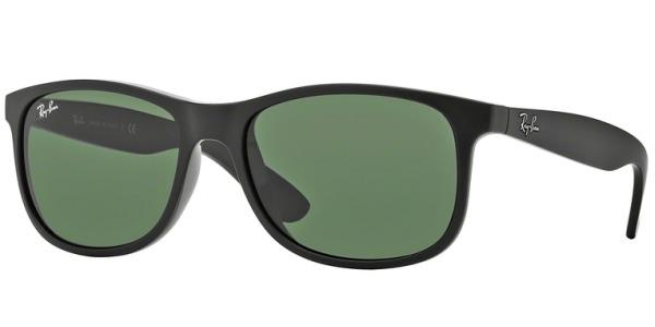 Sluneční brýle Ray-Ban® model 4202, barva obruby černá mat, čočka zelená, kód barevné varianty 606971.