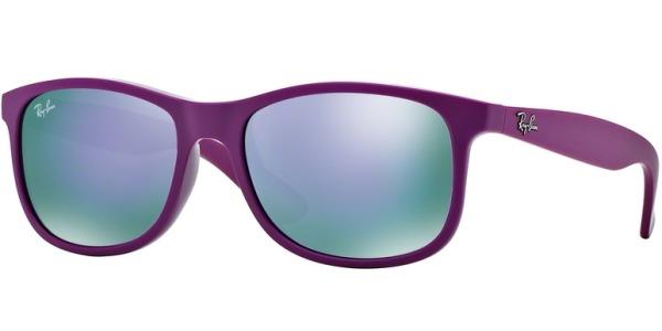 Sluneční brýle Ray-Ban® model 4202, barva obruby růžová mat, čočka růžová zrcadlo, kód barevné varianty 60714V.