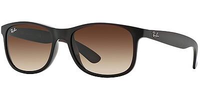Sluneční brýle Ray-Ban® model 4202, barva obruby hnědá mat, čočka hnědá gradál, kód barevné varianty 607313.