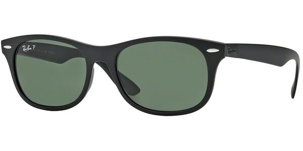 Sluneční brýle Ray-Ban® model 4207, barva obruby černá mat, čočka zelená polarizovaná, kód barevné varianty 601S9A.