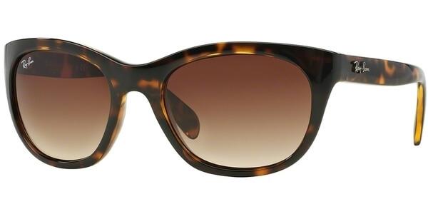 Sluneční brýle Ray-Ban® model 4216, barva obruby hnědá lesk, čočka hnědá gradál, kód barevné varianty 71013.