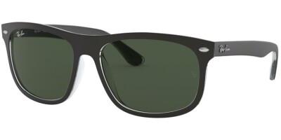 Sluneční brýle Ray-Ban® model 4226, barva obruby černá mat čirá, čočka zelená, kód barevné varianty 605271.