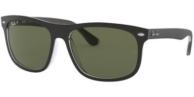 Sluneční brýle Ray-Ban® model 4226, barva obruby černá mat čitá, čočka zelená polarizovaná, kód barevné varianty 60529A.