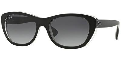 Sluneční brýle Ray-Ban® model 4227, barva obruby černá lesk čirá, čočka šedá gradál, kód barevné varianty 60528G.