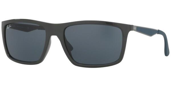 Sluneční brýle Ray-Ban® model 4228, barva obruby šedá lesk modrá, čočka šedá, kód barevné varianty 618587.