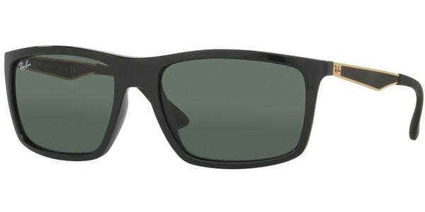 Sluneční brýle Ray-Ban® model 4228, barva obruby černá lesk zlatá, čočka zelená, kód barevné varianty 622771.