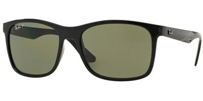Sluneční brýle Ray-Ban® model 4232, barva obruby černá lesk, čočka zelená polarizovaná, kód barevné varianty 6019A.