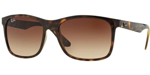 Sluneční brýle Ray-Ban® model 4232, barva obruby hnědá lesk, čočka hnědá gradál, kód barevné varianty 71013.