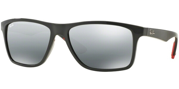 Sluneční brýle Ray-Ban® model 4234, barva obruby šedá lesk, čočka stříbrná zrcadlo gradál, kód barevné varianty 618588.