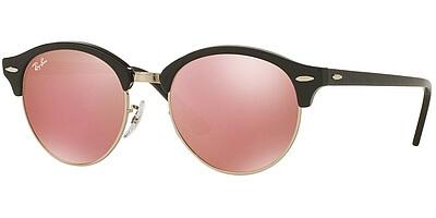 Sluneční brýle Ray-Ban® model 4246, barva obruby černá lesk stříbrná, čočka růžová zrcadlo, kód barevné varianty 1197Z2.