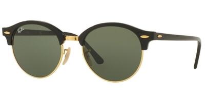 Sluneční brýle Ray-Ban® model 4246, barva obruby černá lesk zlatá, čočka zelená, kód barevné varianty 901.