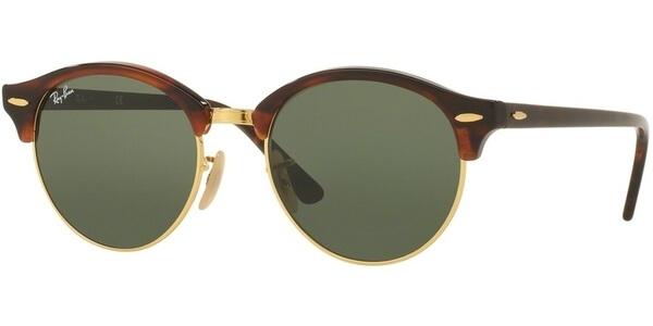Sluneční brýle Ray-Ban® model 4246, barva obruby hnědá lesk, čočka zelená, kód barevné varianty 990.