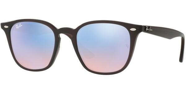 Sluneční brýle Ray-Ban® model 4258, barva obruby hnědá lesk, čočka růžová zrcadlo, kód barevné varianty 62311N.
