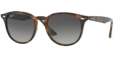 Sluneční brýle Ray-Ban® model 4259, barva obruby hnědá lesk, čočka šedá gradál, kód barevné varianty 71011.