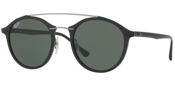 Sluneční brýle Ray-Ban® model 4266, barva obruby černá lesk stříbrná, čočka zelená, kód barevné varianty 60171.