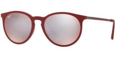 Sluneční brýle Ray-Ban® model 4274, barva obruby vínová lesk šedá, čočka stříbrná zrcadlo, kód barevné varianty 6261B5.