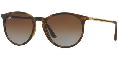 Sluneční brýle Ray-Ban® model 4274, barva obruby hnědá mat zlatá, čočka hnědá gradál polarizovaná, kód barevné varianty 856T5.