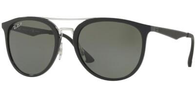 Sluneční brýle Ray-Ban® model 4285, barva obruby černá lesk, čočka zelená polarizovaná, kód barevné varianty 6019A.