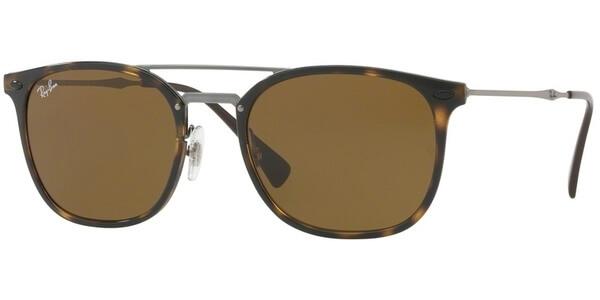 Sluneční brýle Ray-Ban® model 4286, barva obruby hnědá lesk stříbrná, čočka hnědá, kód barevné varianty 71073.