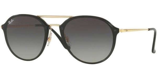 Sluneční brýle Ray-Ban® model 4292N, barva obruby černá lesk zlatá, čočka šedá gradál, kód barevné varianty 60111.