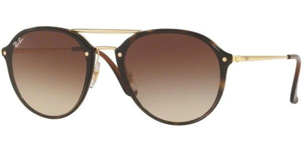 Sluneční brýle Ray-Ban® model 4292N, barva obruby hnědá lesk zlatá, čočka hnědá gradál, kód barevné varianty 71013.