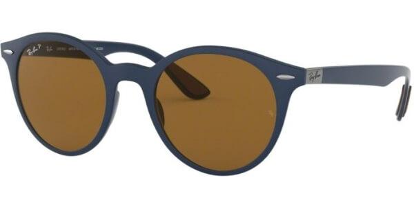 Sluneční brýle Ray-Ban® model 4296, barva obruby modrá mat, čočka hnědá polarizovaná, kód barevné varianty 633183.