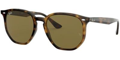 Sluneční brýle Ray-Ban® model 4306, barva obruby hnědá lesk, čočka hnědá, kód barevné varianty 71073.
