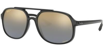 Sluneční brýle Ray-Ban® model 4312CH, barva obruby černá lesk, čočka zlatá zrcadlo gradál polarizovaná, kód barevné varianty 601J0.
