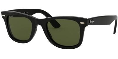 Sluneční brýle Ray-Ban® model 4340, barva obruby černá lesk, čočka zelená polarizovaná, kód barevné varianty 60158.