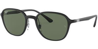 Sluneční brýle Ray-Ban® model 4341, barva obruby černá mat, čočka zelená, kód barevné varianty 601S71.