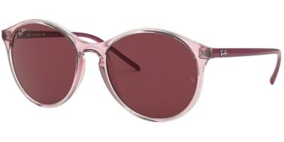 Sluneční brýle Ray-Ban® model 4371, barva obruby růžová lesk, čočka červená, kód barevné varianty 640075.