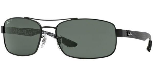 Sluneční brýle Ray-Ban® model 8316, barva obruby černá lesk, čočka zelená polarizovaná, kód barevné varianty 002N5.