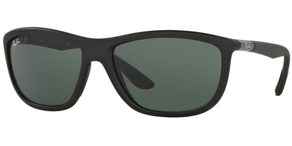 Sluneční brýle Ray-Ban® model 8351, barva obruby černá mat šedá, čočka zelená, kód barevné varianty 622071.