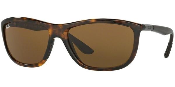Sluneční brýle Ray-Ban® model 8351, barva obruby hnědá lesk šedá, čočka hnědá, kód barevné varianty 622173.