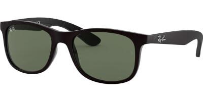 Sluneční brýle Ray-Ban® model 9062S, barva obruby černá mat, čočka zelená, kód barevné varianty 701371.