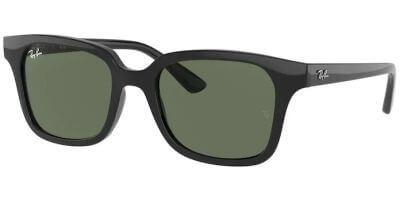 Sluneční brýle Ray-Ban® model 9071S, barva obruby černá lesk, čočka zelená, kód barevné varianty 10071.