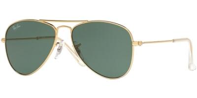 Sluneční brýle Ray-Ban® model 9506S, barva obruby zlatá lesk, čočka zelená, kód barevné varianty 22371.